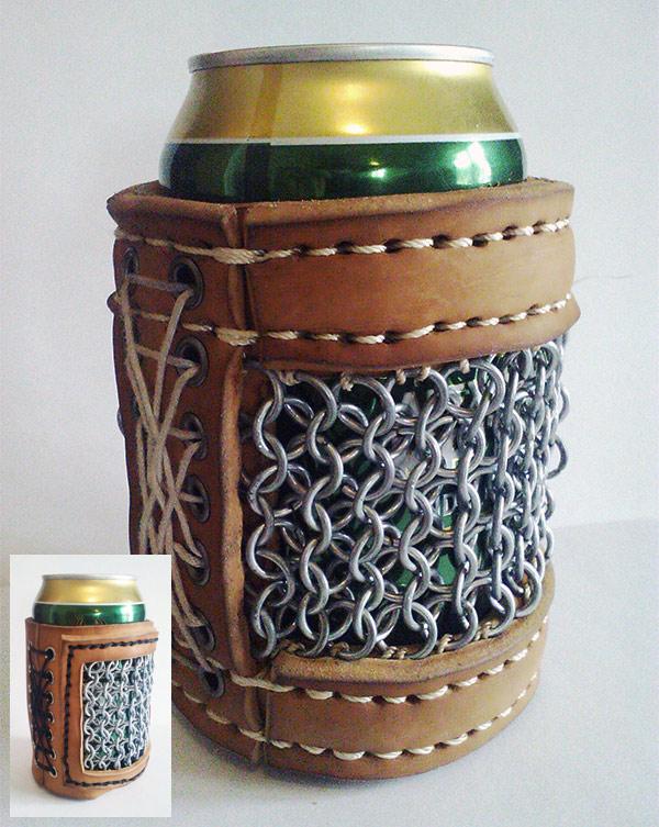 chainmail-beer-koozie