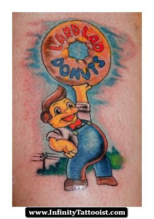 infinity tattoo donut 02