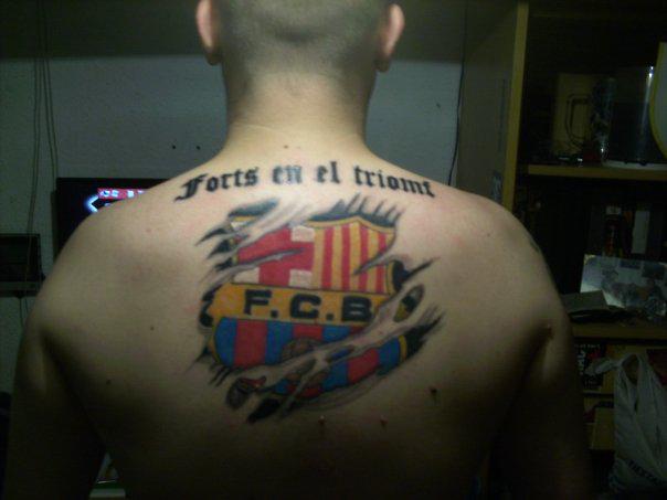 tattoos de futbol soccer tattoos � inky beer