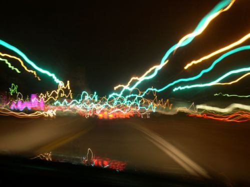 car-blurred lines-blurry lights-drunk driving