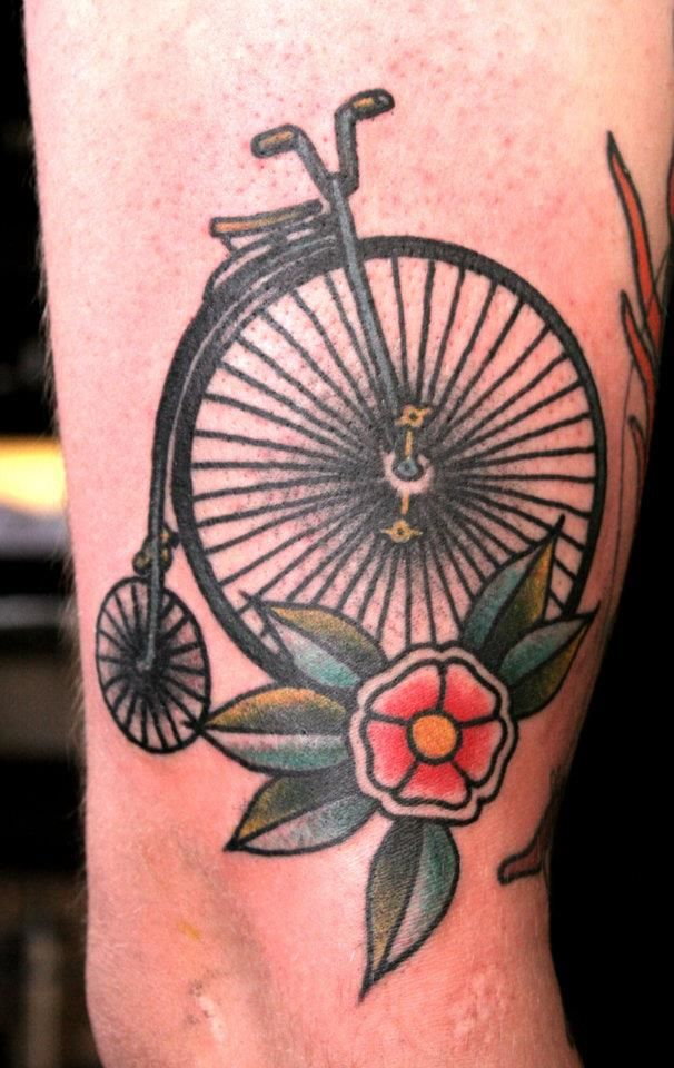 summer ready bicycle tattoos � inky beer