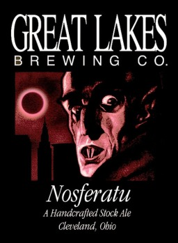 Nosferatu beer label